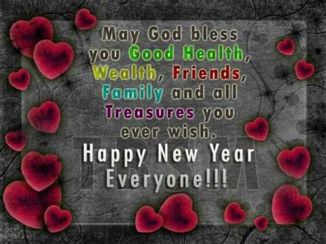 happy new year may god bless you new year pinterest