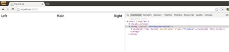 Javascript Flex Layout | japh r by chris strom not so flex polymer