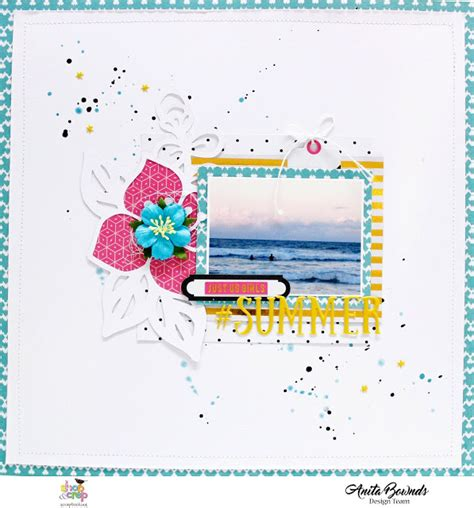 qt layout layers shop and crop summer layout with anita bownds