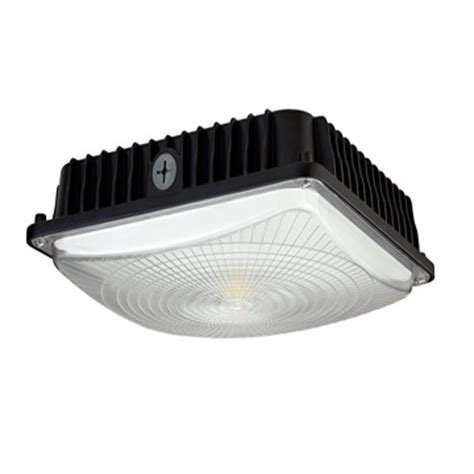 Led Canopy Light Fixtures Cf45 5k 1 Faraday Lighting Company