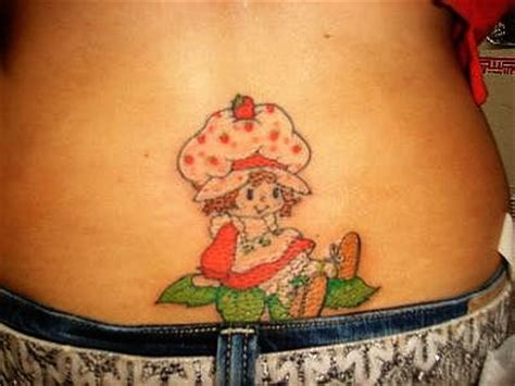 strawberry shortcake tattoo designs strawberry shortcake picture
