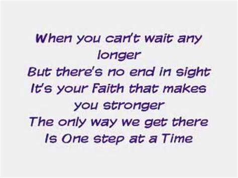 one step at a time jordin sparks lyrics az jordan sparks one step at a time lyrics youtube