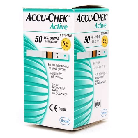 Accuchek Aktif accu chek active test strips
