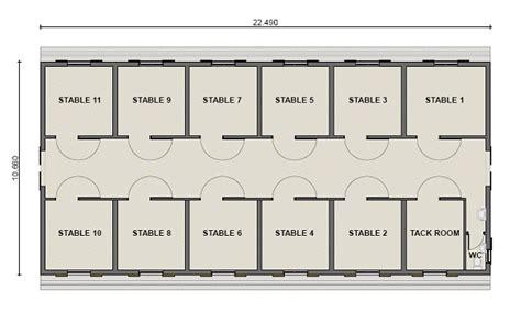 easy horse barn design software cad pro plan pl0001c 11 horse stable
