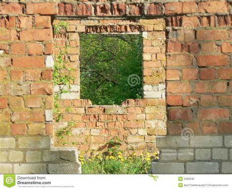 interesting and brick architecture stock photo
