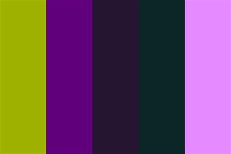 fear of color thunderstorm as fear color palette