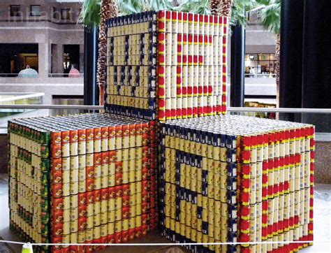 canstruction design plans new photos canstruction sculptures made entirely from cans inhabitat green design