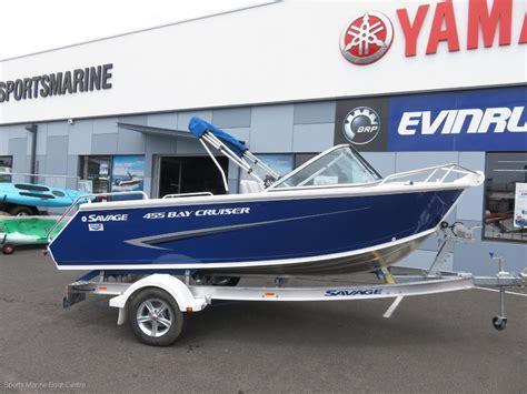 cruiser boats for sale australia new savage 455 bay cruiser trailer boats boats online