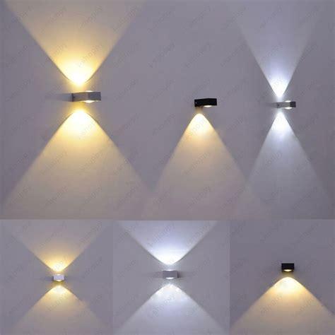 up 3w 6w led cob wall sconce light high power