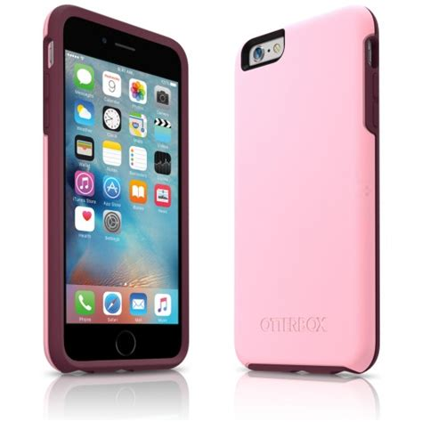 otterbox iphone     symmetry series case pink purple accom