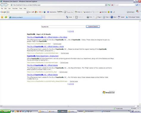 Windows Live Search Consuming The Windows Live Search Webservice Using Asp Net