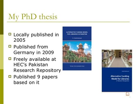 Getting Your Masters Dissertation Published by Phd Thesis Publishers