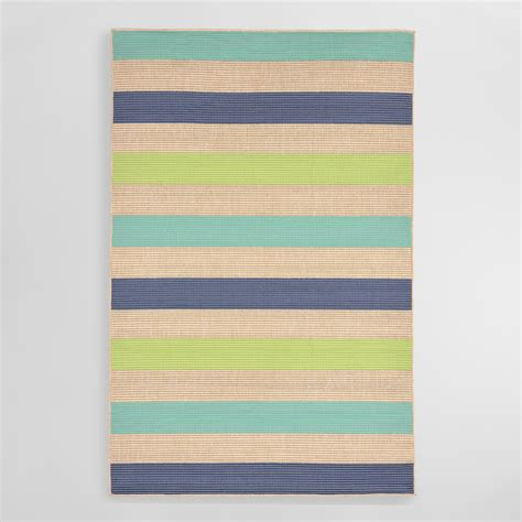 cool rug cool stripe playa indoor outdoor area rug world market