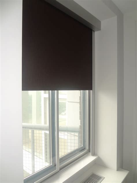 Blackout Roller Shades Citywindowfashions Gallery
