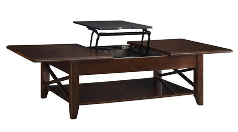 Lift Top Coffee Table Mechanism The Davis Rectangular Coffee Table With Lift Top Mechanism Coffee Tables