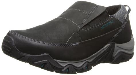 winter slip on shoes merrell s polarand rove moc waterproof winter slip