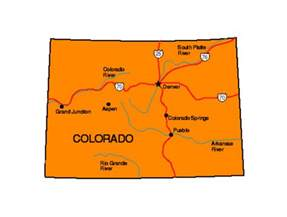 colorado state parks cing map colorado facts symbols tourist attractions