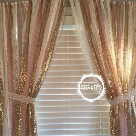pink sequin curtains best 25 gold curtains ideas on pinterest rose gold