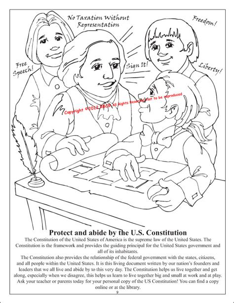 road to revolution colouring pages