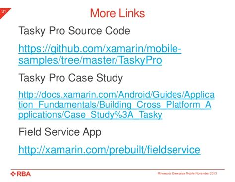 xamarin tutorial pptx cross platform mobile development with xamarin