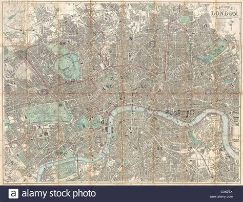 Antique Map London Stock Photos Amp Antique Map London Stock