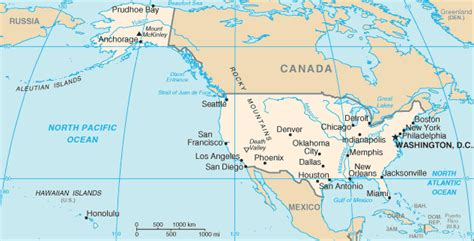 on us map the world factbook