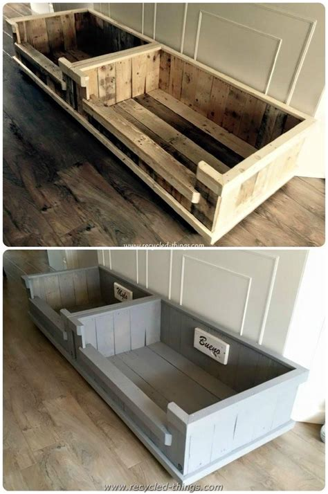 dog bed made out of pallets diy projects with wooden pallets recycled things