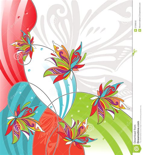 flower design greeting cards vector flower design for greeting card stock photography
