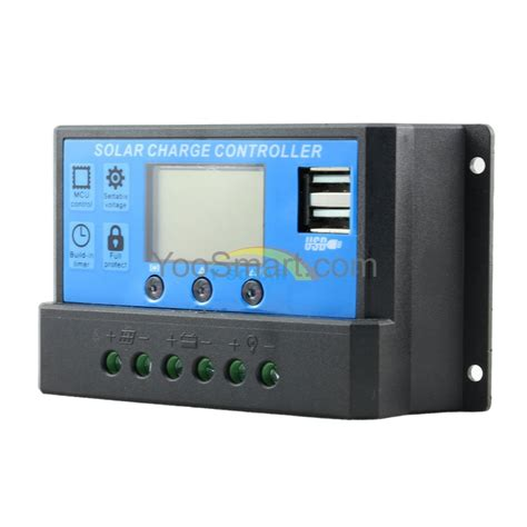 Controler Voltage Regulator Ep Solar 20 A Ls2024r pwm 20a solar charge controller 12v 24v dual usb solar