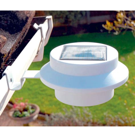 gutter solar lights solar gutter lights garden lights garden accessories