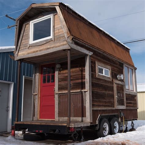 tiney houses 200 sq ft hayseed tiny house on wheels