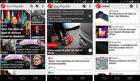 Android Republic by News Republic 4 0 Se Remet 224 Neuf Sur Android