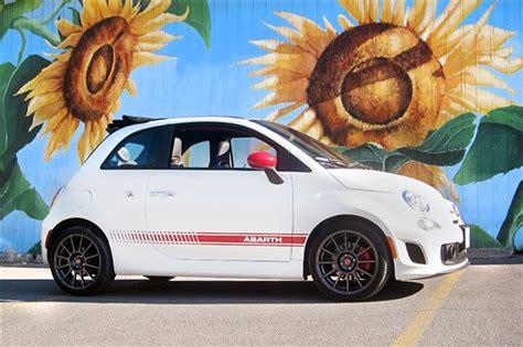 Lesele Auto by 2013 Fiat 500 Abarth Cabrio Autos Ca