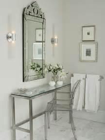 venetian mirror bathroom venetian mirror traditional bathroom farrow