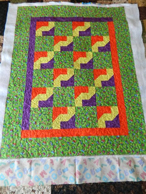 Becky Quilting Tool by Four Quilts For A Daycare Quilted By Becky