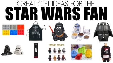 gift ideas for star wars fans holiday shopping gift ideas for the star wars fan on your