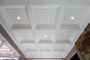 Box Tray Ceiling Coffered Ceiling System Easy Ceiling Panel Treatments