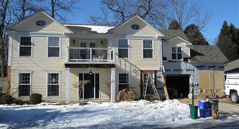 burlington home exterior renovation project