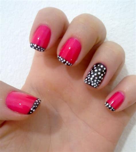 imagenes de uñas pintadas faciles y bonitas para los pies decoraci 243 n de u 241 as sencillas y f 225 ciles 50 modelos bonitos