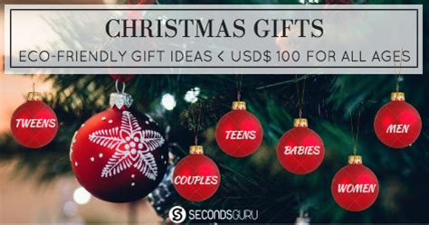 christmas presents under 100 dollars gifts 100 dollars eco friendly gift ideas for all ages secondsguru