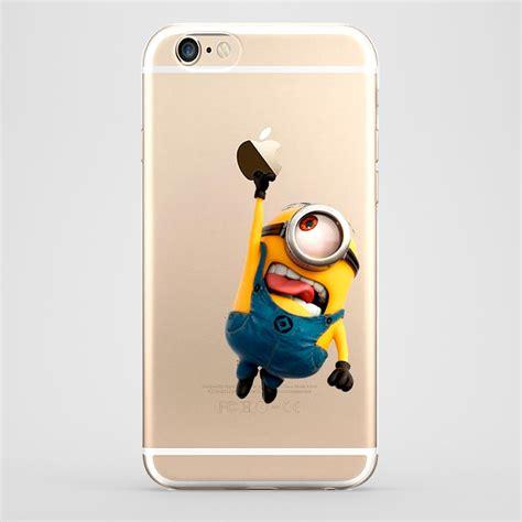 Silikon Disney Universal 6 8in 7 In funda iphone 6 stuart minions transparente