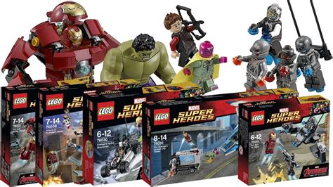 Avenger Age Of Ultron Ori Set 4 new lego age of ultron set pictures hd