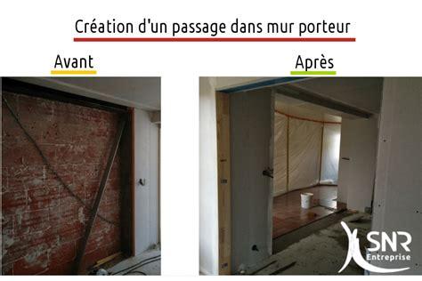 Mur Non Porteur by Casser Un Mur Non Porteur Finest Devis Abattre Mur