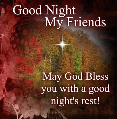 imagenes good night my friend good night my friends may god bless you with a good night
