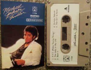 michael jackson thriller cassette michael jackson thriller cassette album discogs