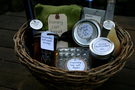Handmade Housewarming Gifts - housewarming baskets small measure