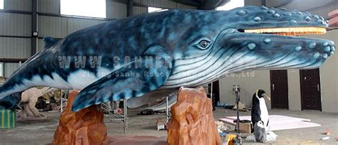 robot killer whale whales animatronic robot giants size scale working models