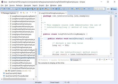 java pattern exclude string java long tooctalstring long i method exle
