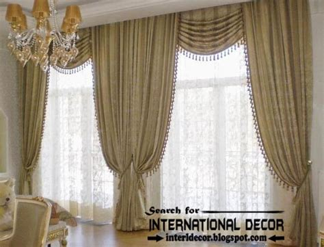 latest curtain styles top trends living room curtain styles colors and materials