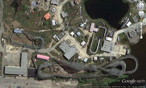 theme google earth abandoned theme parks in google earth google earth blog